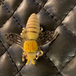 Antique Bumble Dainty Insect Bee Brooch Pin